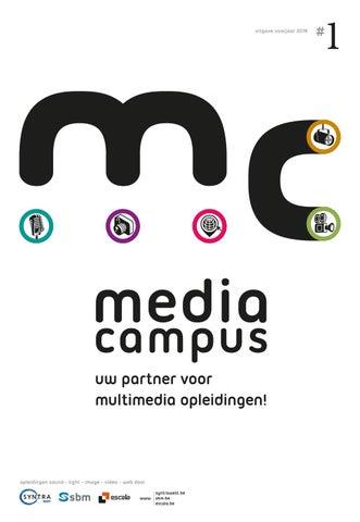 Groep Syntra West - Media Campus # 1 Voorjaar 2019
