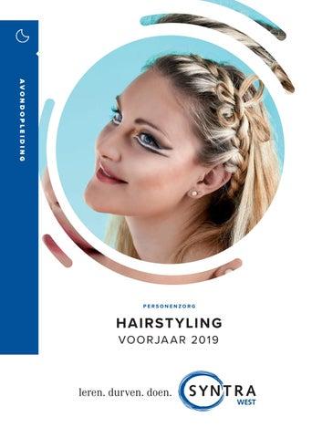 Syntra West Hairstyling voorjaar 2019