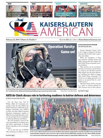 Kaiserslautern American, February 22, 2019