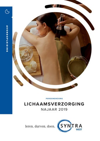 Syntra West lichaamsverzorging voorjaar 2019