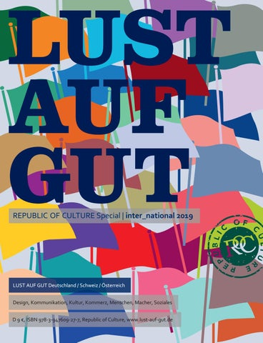 LUST AUF GUT Magazin | Special inter_national 2019