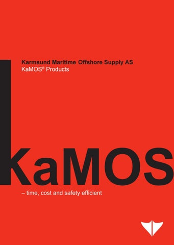 1 – KaMOS® Products - Brochures
