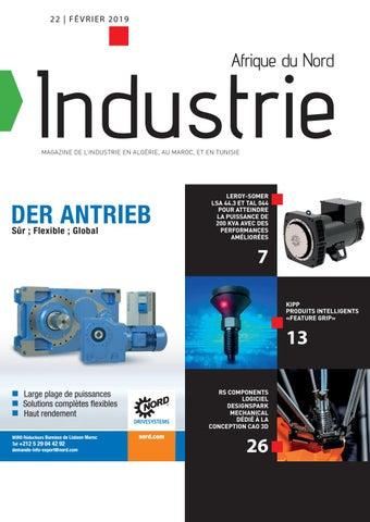 Industrie Afrique du Nord | 22 - Février 2019