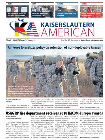 Kaiserslautern American, March 1, 2019