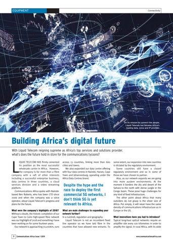 Building Africa�s digital future