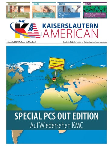Kaiserslautern American, March 8, 2019