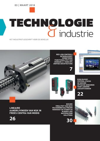 Technologie & Industrie | 03 - Maart 2019