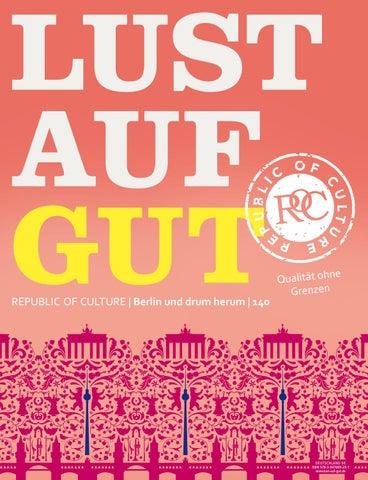 LUST AUF GUT Magazin | Berlin Nr. 140