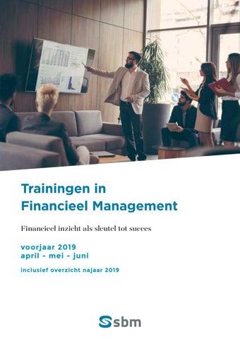 SBM Trainingen in financieel management voorjaar 2019