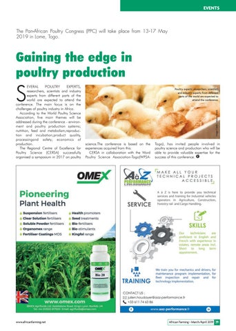 Gaining the edge in poultry production