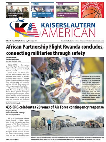 Kaiserslautern American, March 22, 2019