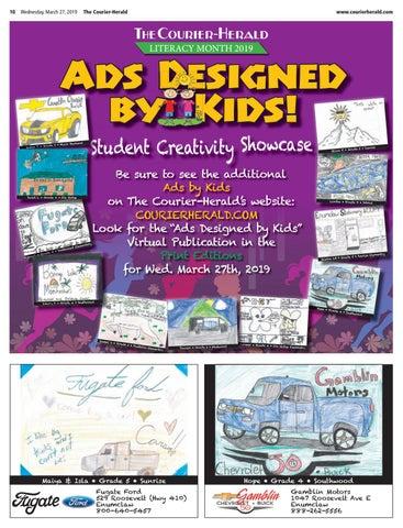 Kids Design an Ad 2019