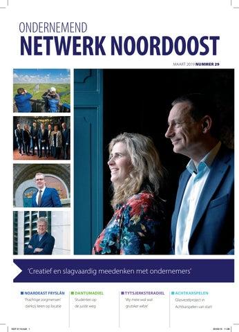 Ondernemend Netwerk Noordoost Maart 2019
