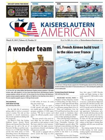 Kaiserslautern American, March 29, 2019