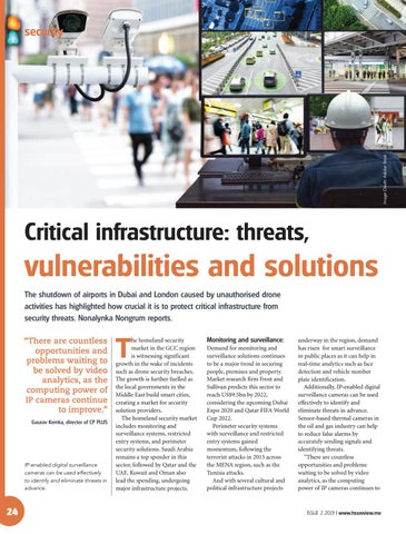 Critical infrastructure: threats, vulnerabilities and solutions