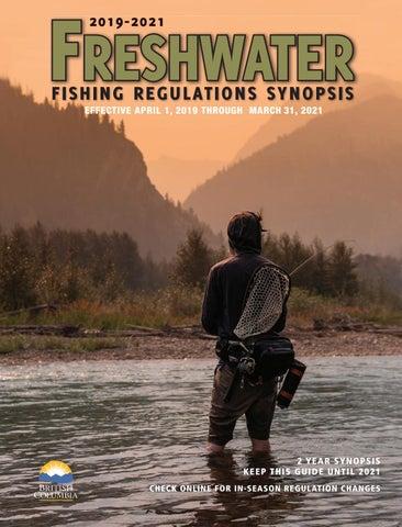 Freshwater Fishing Regulations Synopsis