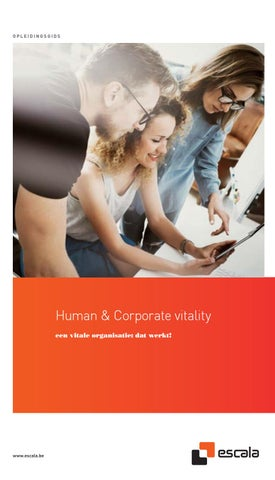 Escala Human & corporate vitaiity