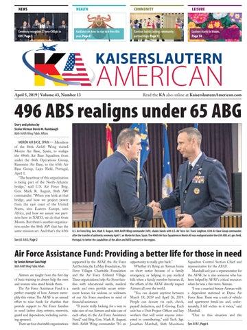 Kaiserslautern American, April 5, 2019