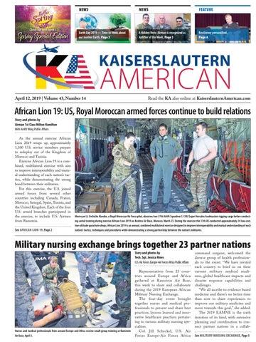 Kaiserslautern American, April 12, 2019
