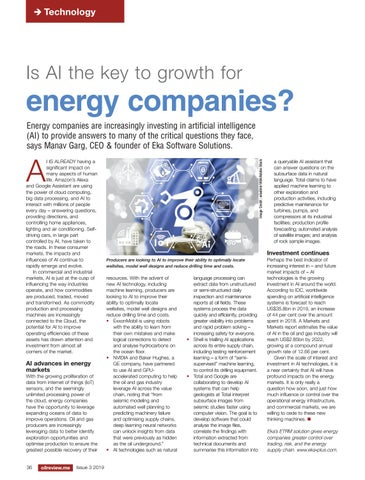 Is AI the key to growth for energy companies?