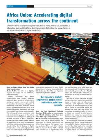 Africa Union: Accelerating digital transformation across the continent