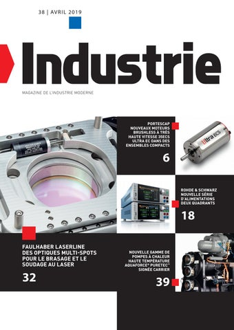 Industrie | 38 - Avril 2019