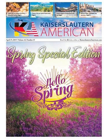 Kaiserslautern American Special Edition, April 19, 2019