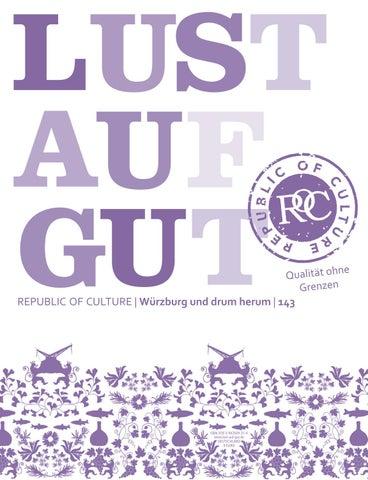 LUST AUF GUT Magazin | Würzburg Nr. 143
