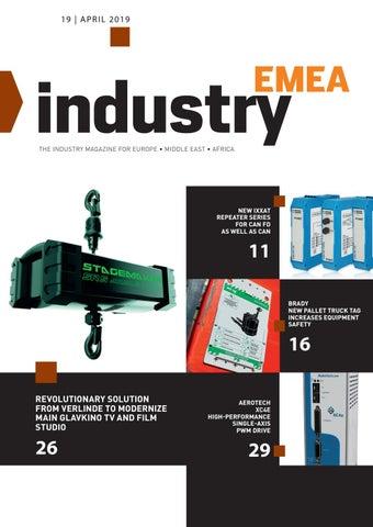 Industry EMEA | 19 - April 2019
