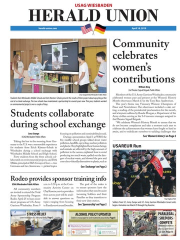 Herald Union, April 18, 2019