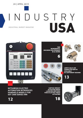 Industry USA | 24 - April 2019