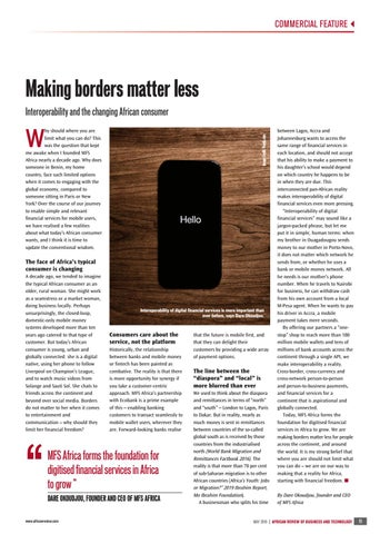 Making borders matter less