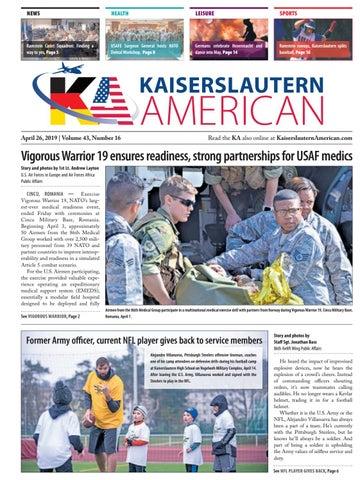 Kaiserslautern American, April 26, 2019
