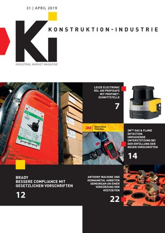 Konstruktion-Industrie | 31 - April 2019
