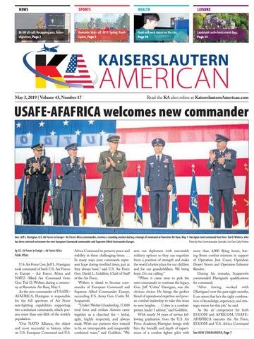 Kaiserslautern American, May 3, 2019