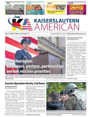 Kaiserslautern American, May 17, 2019