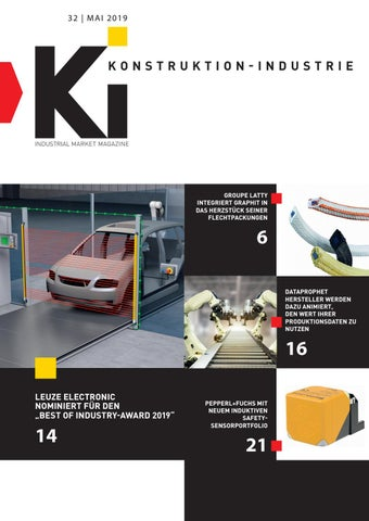 Konstruktion-Industrie | 32 - Mai 2019