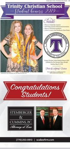 2019 Trinity Honors