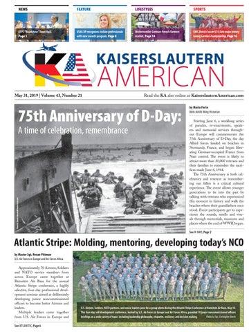 Kaiserslautern American — May 31, 2019