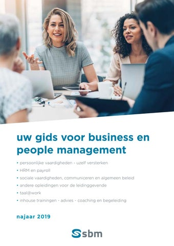 SBM Business en people management Najaar 2019