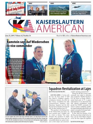 Kaiserslautern American — June 21, 2019