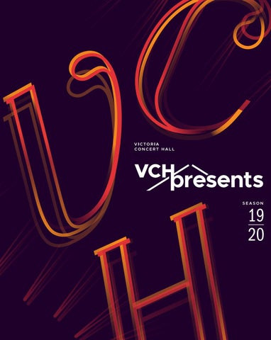 VCHpresents 2019/20 Season Brochure