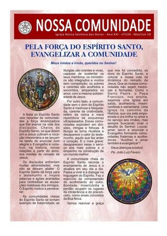 [Jornal Nossa Comunidade – Edição Nº 139]