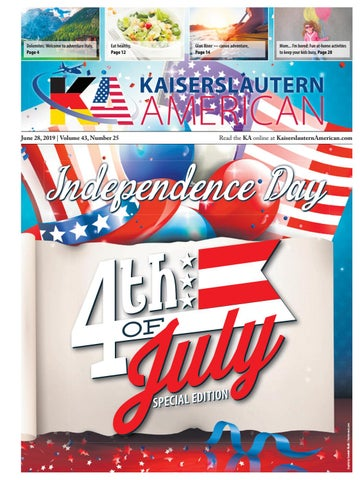 Kaiserslautern American - Special Edition - June 28, 2019