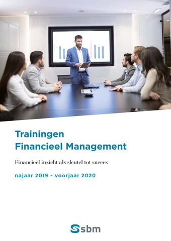 SBM trainingen financieel management najaar 2019