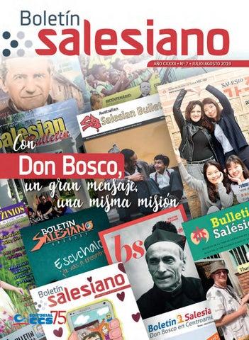 Boletín Salesiano, julio-agosto de 2019