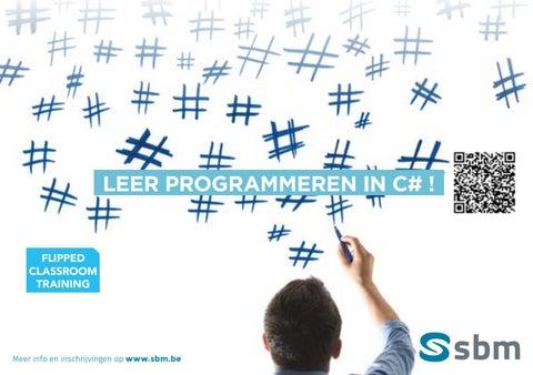 SBM Leer programmeren in C# najaar 2019