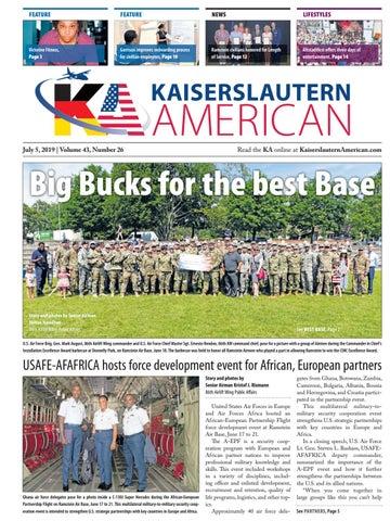 Kaiserslautern American, July 5, 2019