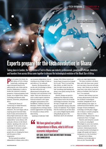 Experts prepare for the tech revolution in Ghana