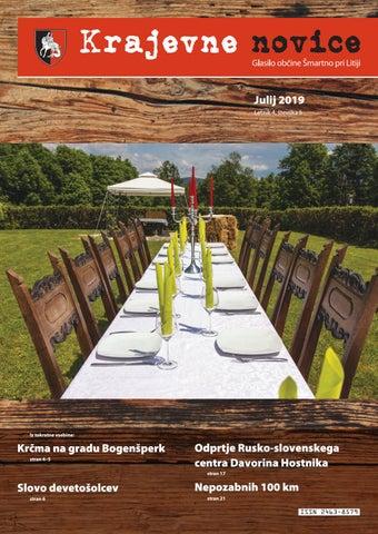 Krajevne novice - julij 2019 (letnik 4, št. 5)